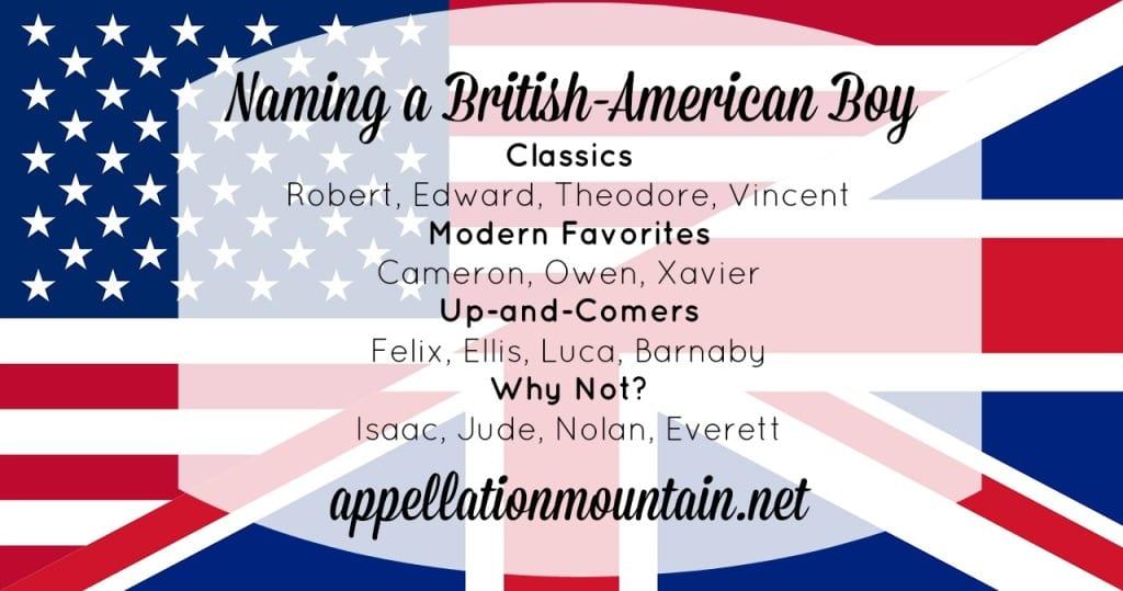 British-American Boy
