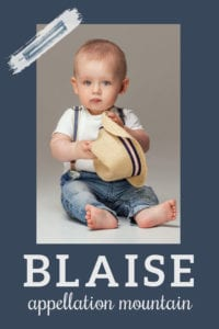 baby name Blaise