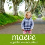 Maeve: Baby Name of the Day