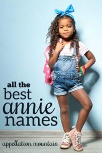 Annie names