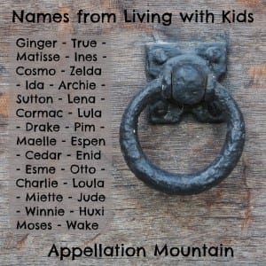 Living with Kids names