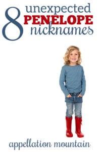Penelope Nicknames