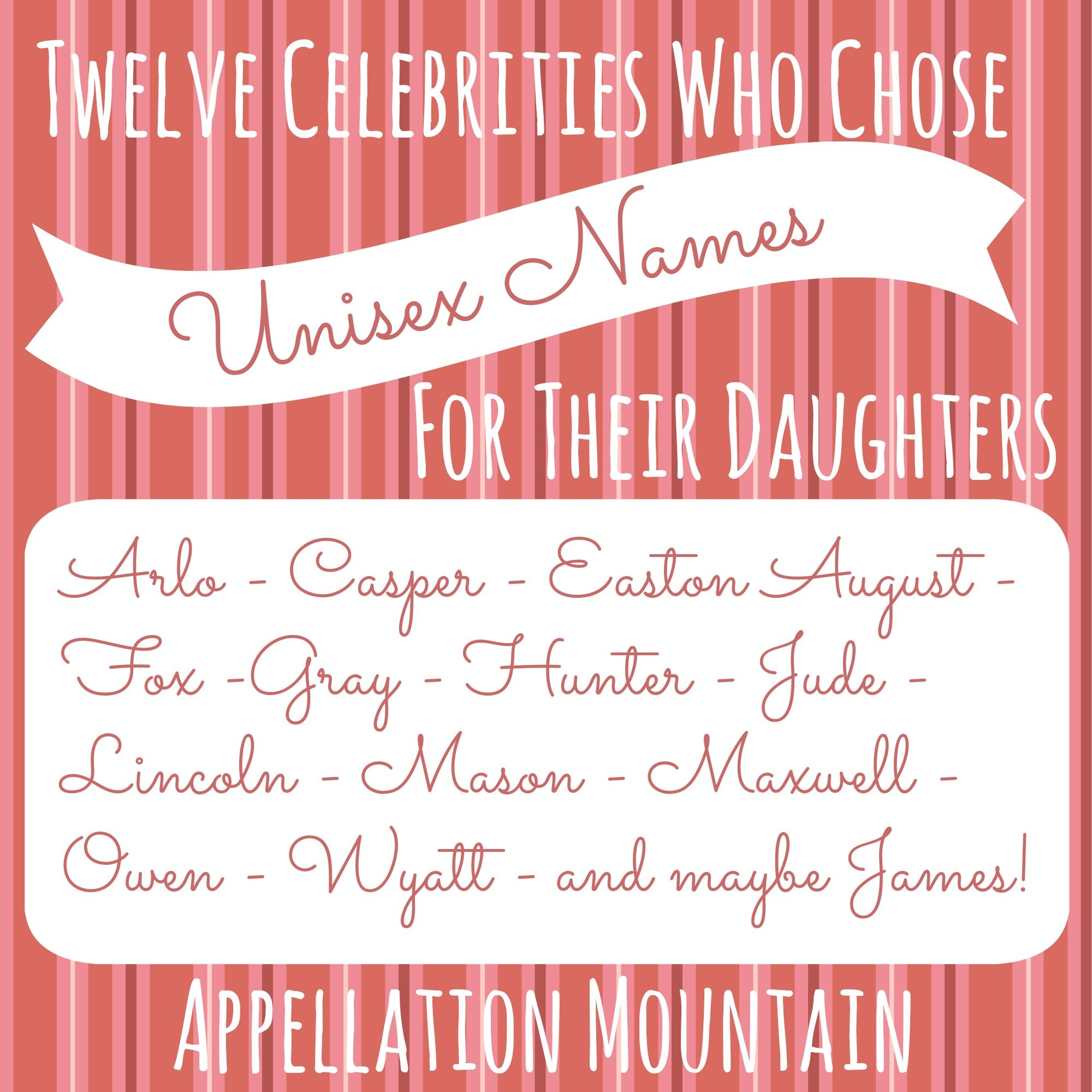 Campbell and Collins: The New Unisex Names for Girls - Appellation