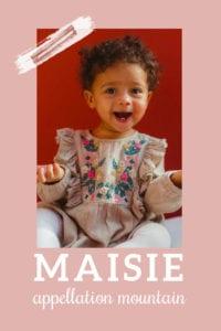 baby name Maisie