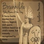 Brunhilde: Baby Name of the Day