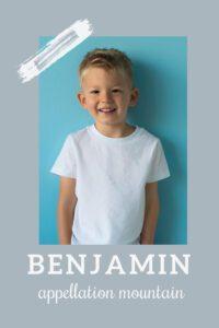baby name Benjamin