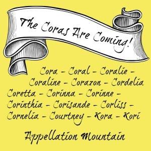 Cora Names