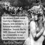 Phryne: Baby Name of the Day