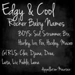 Name Help: Rocker Names for a First Baby