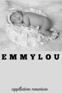 baby name Emmylou
