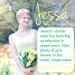 Jessa: Baby Name of the Day