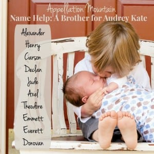 A Brother for Audrey Kate