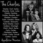 The Charlies: Boy and Girl Names of the Decade