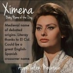Ximena: Baby Name of the Day