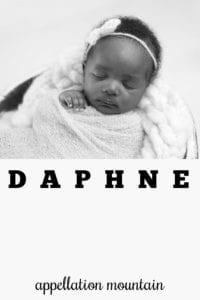 girl name Daphne