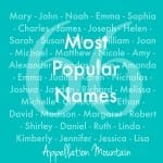 Emma, Noah, and 64 More: The Most Popular Baby Names of All Time