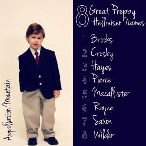 8 Great Preppy Hellraiser Baby Names