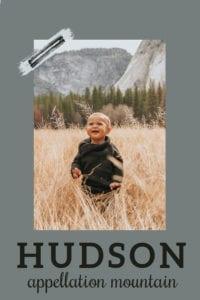 baby name Hudson