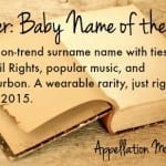 Booker: Baby Name of the Day