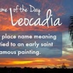 Leocadia: Baby Name of the Day