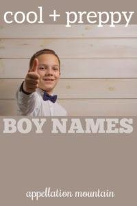preppy hellraiser boy names