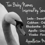 Ten Swan-Inspired Baby Names