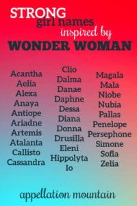 Inspired by Wonder Woman