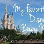 My Favorite Disney Baby Names