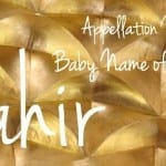 Tahir: Baby Name of the Day