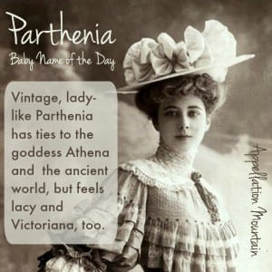 Parthenia: Baby Name of the Day