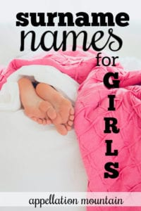Surname Names for Girls