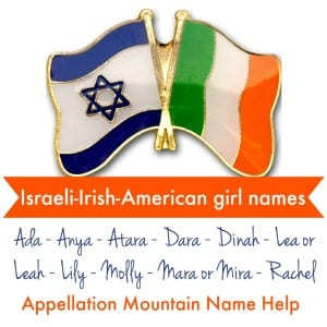 Israeli Irish baby names