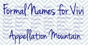 Formal Names for Vivi