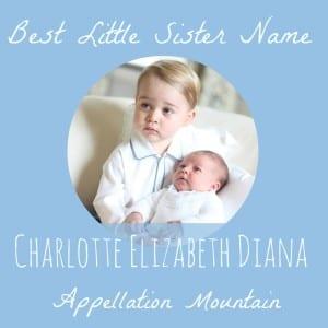 Celebrity Baby Names 2015: Charlotte Elizabeth Diana