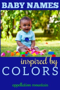 color names for babies
