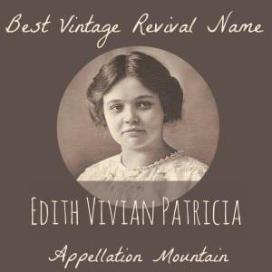 Celebrity Baby Names: Edith