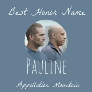 Celebrity Baby Names: Pauline