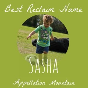Celebrity Baby Names: Sasha