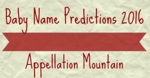 Predictions 2016