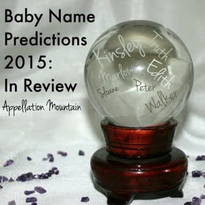 Baby Name Predictions reviewed