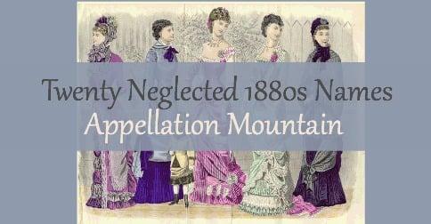 1880s baby names