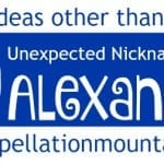 10 Unexpected Nicknames for Alexander