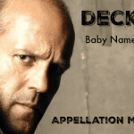 Deckard: Baby Name of the Day