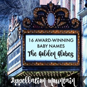 Golden Globes baby names