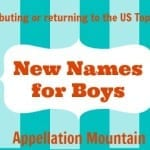 Look Back: New Names for Boys 2014