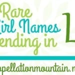 Truly and Italy: Seven Rare Girl Names Ending with ly