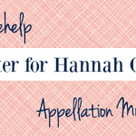 Name Help: A Sister for Hannah