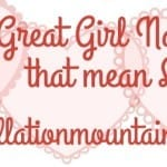 Ten Great Girl Names that Mean Love
