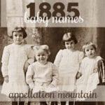 Rare 1885 Baby Names: Leda, Dempsey, Rome