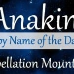 Anakin: Baby Name of the Day